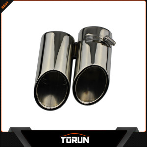 2017 mirror polish factory for Land Rover 07-13 Freelander  304 stainless steel exhaust tip