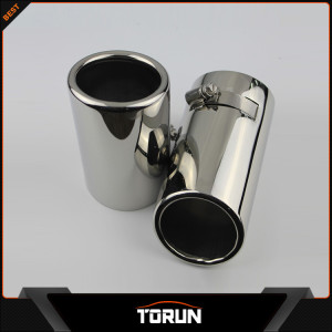 2017 polish factory for Audi 12-14 A1 A3 304 stainless steel exhaust tip
