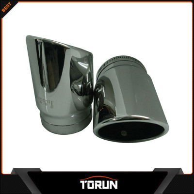 2016 mirror polish factory for Audi 12-14 A1 304 stainless steel exhaust tip