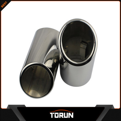 2017 mirror polish factory for Audi 06-12 Q7 304 stainless steel exhaust tail pipe