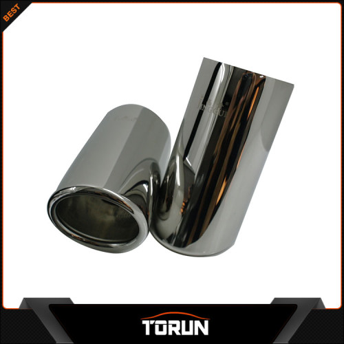 2016 high polish factory for Golf T Tiguan 13-14 Beetle 1.2T 304 stainless steel exhaust tip
