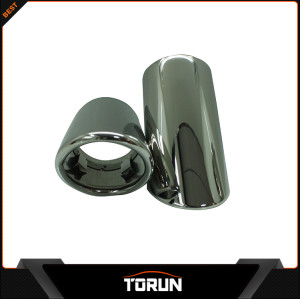 For VW Sagitar T 12-13 Magotan 304 stainless steel exhaust tip Mirror polish Bluing Chrming black surface factory