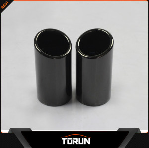 2016 mirror polish factory for VW 06-11 Sagitar T 10 Passat 304 stainless steel exhaust tip