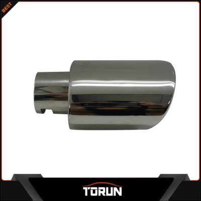 2016 mirror polish factory for Toyota 12 Yaris 304 stainless steel exhaust tip