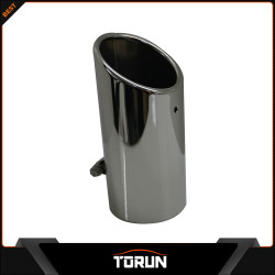 2017 factory for 12 - 14 City 304 stainless steel exhaust tip