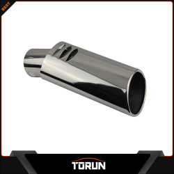 2017 factory for 12 Jade 304 stainless steel exhaust tip