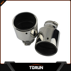 2017 factory for 09 - 11 CIVIC 304 stainless steel exhaust tip