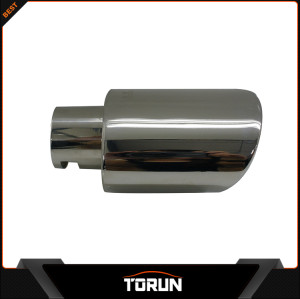 2017 factory high polish for Peugeot 14 301 SUS304 customized exhaust tip