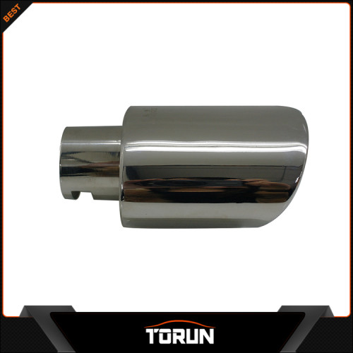 2017 wholesale for Citroen 14 Elysee 304 stainless steel exhaust pipe muffler tip