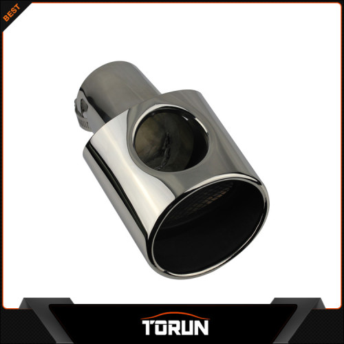 2017 factory for Ford 09 - 11 Focus (2) stainless steel muffler tip muffler pipe