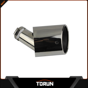 2017 factory for 13 Ecosprot stainless steel exhaust tip