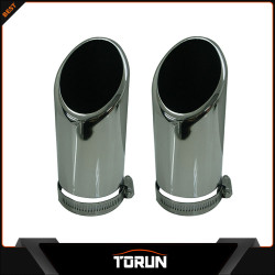 2017 factory for Skoda 07 - 14 Octavia stainless steel exhaust tip