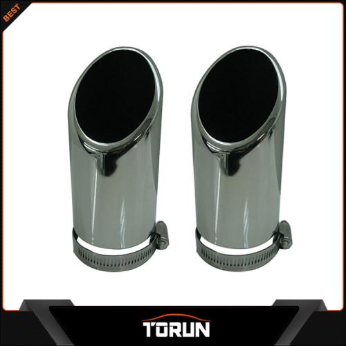 2017 factory for Skoda 07 - 14 Octavia stainless steel exhaust tip