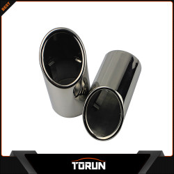 2017 factory for Skoda 10 - 14 Octavia 2.0T Superb 304 stainless steel exhaust tip