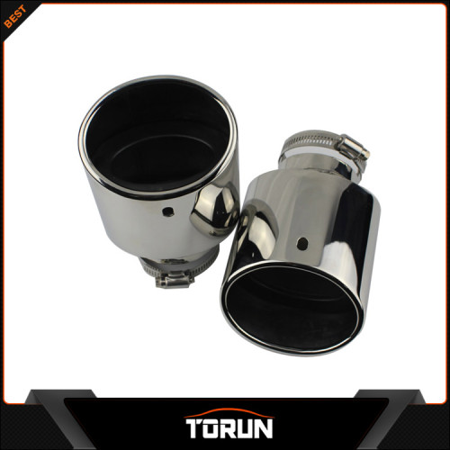 2017 high quality factory for Renault 09 - 14 Koleos 304 stainless steel exhaust tip