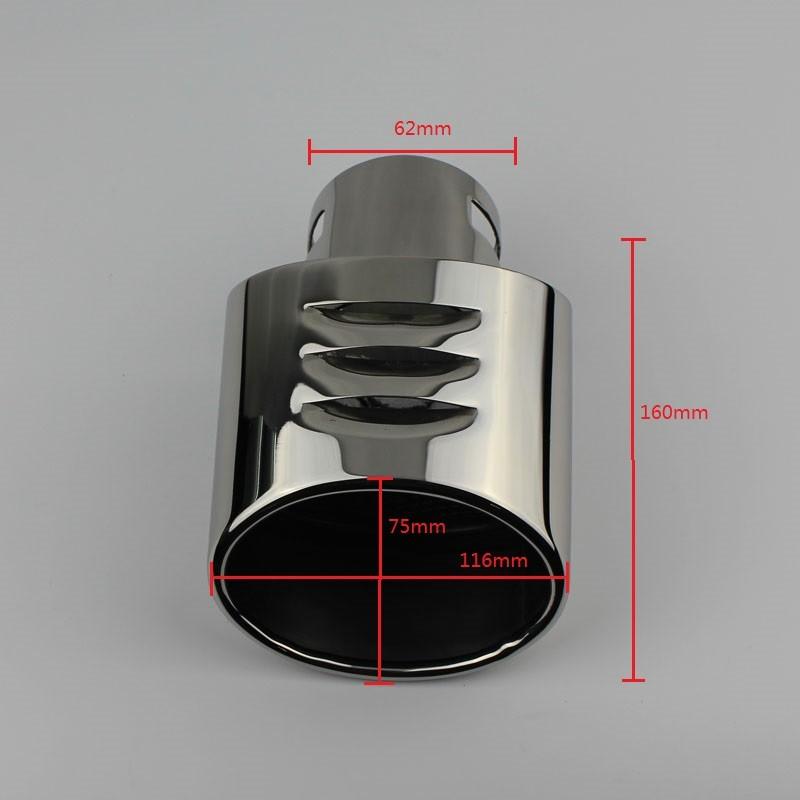 Nissan exhaust tip