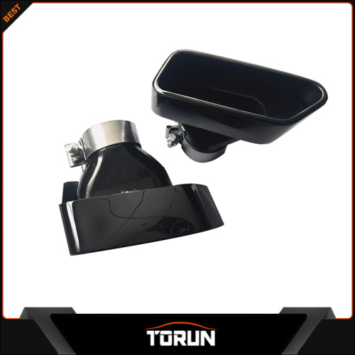 Wholesale bmw black exhaust f10 muffler tip mirror polish surface