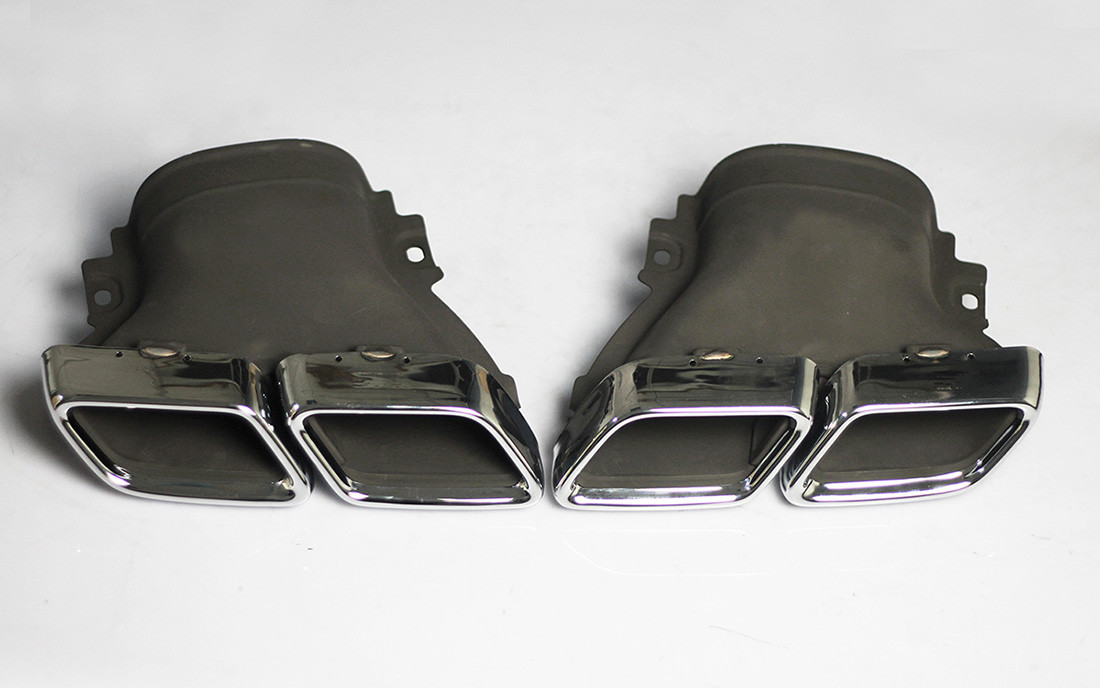 mercedes benz exhaust tip
