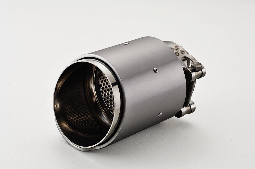 aluminum exhaust tip