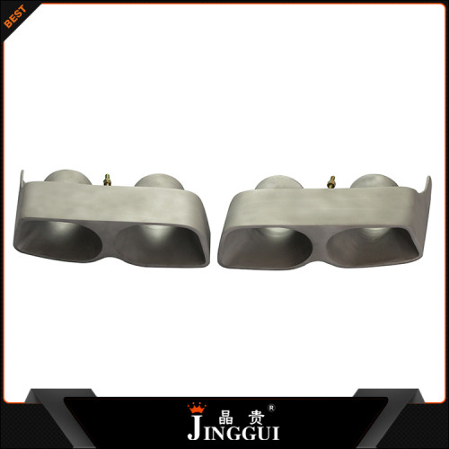 The single supplier for B logo for mercedes benz exhaust tip muffler end in china