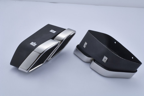 Mansory style Exhaust Tips newest quad for range rover land rover pipe