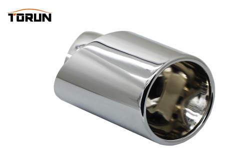 Mirror Polish exhaust pipe Car Exhaust Silencer Auto Car Accessories