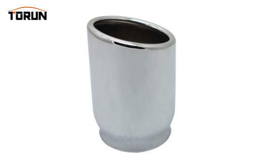 304 stainless steel mirror polish exhaust tip Inlet size 76mm