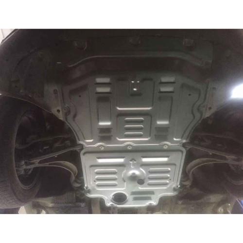 Aluminum splash shield for porsche 2018 Macan 2.0T/3.0T/3.6T
