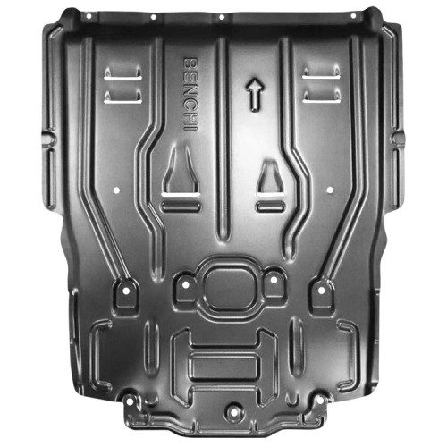 aluminum alloy protect engine skid plate for 2019 mercedes benz