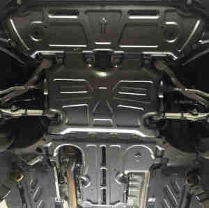 engine radiator gearbox skid plate for mercedes benz 2016- GLC X253