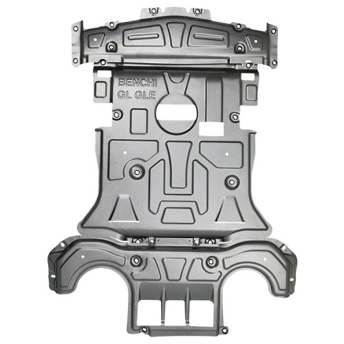 Auto skid plate for the protection of the engine and the gearbox for benz GLE W166