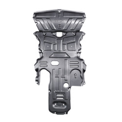 Front Engine Radiator Skid Plate Splash for E CLASS engine skid plate