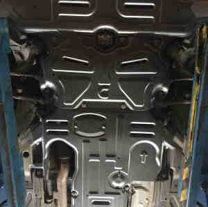aluminum alloy skid plate for mercedes benz C-CLASS W205