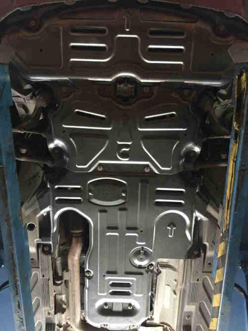 aluminum alloy skid plate for mercedes benz C-CLASS W205