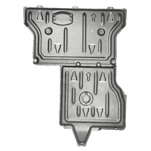 Engine protection skid plate for Mercedes benz Vito W639