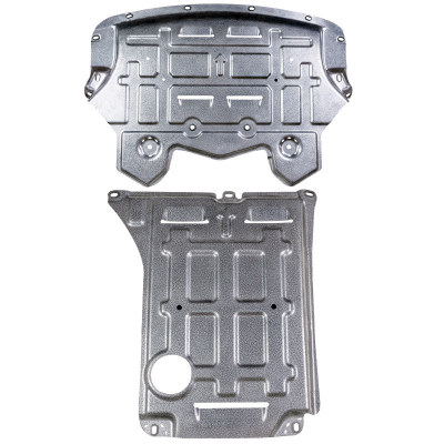 perfomance radiator skid plate splash shield for bmw X5 F15 X6 F16