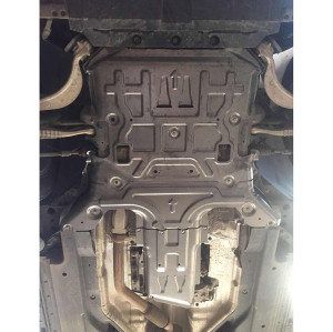 auto part aluminum Engine gearbox Shield Protector cover guard for Jaguar 4WD E-PACE 2.0T/3.0T 2016-