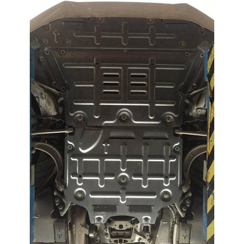 Aluminum alloy engine gearbox splash shield for 2017 A5 A4L 1.4T/2.0T