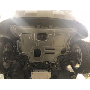 Replacing Engine Splash Shield for 2013 Audi Q2L 2.0T