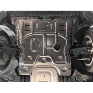 1.4T/1.5L 2019- VW POLO T-CROSS engine skid plate splash shield