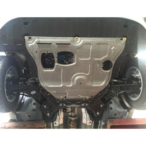 Engine Cover Undertray plate Removing the engine splash shield for hyundai Solaris RV 2016 2017
