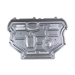 exterior car parts protection plate aluminum skid plate for 2015 2016 2017 2018 ford Escort 1.5L