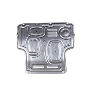 Aluminum Engine Splash Shield Under cover Plate for Nissan NV200 Geniss livina Bluebird Tiida Sylphy