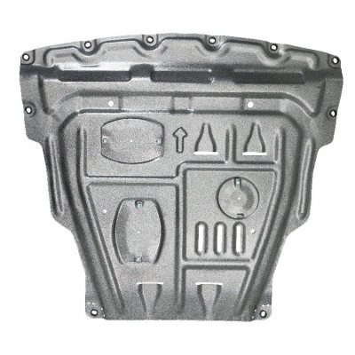 aluminum alloy steel Skid plate for Nissan Qashqai 2016-