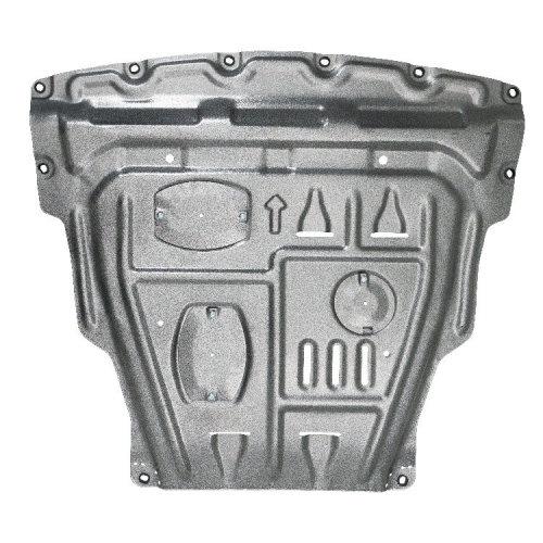 aluminum alloy steel Skid plate for Nissan Qashqai 2016-