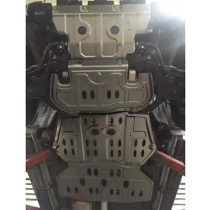 Hot Sale Car Accessories skid plate of engine radiator gearbox transfer case for nissan TERRA NAVARA