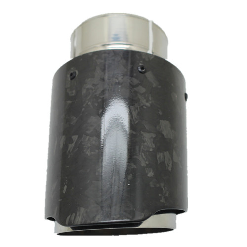 2020 NEW china supplier producer  hot carbon fiber  inlet 64mm outlet 76.5mm length 159mm