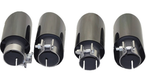 2020 new style exhaust tip for Universal muffler tail throat