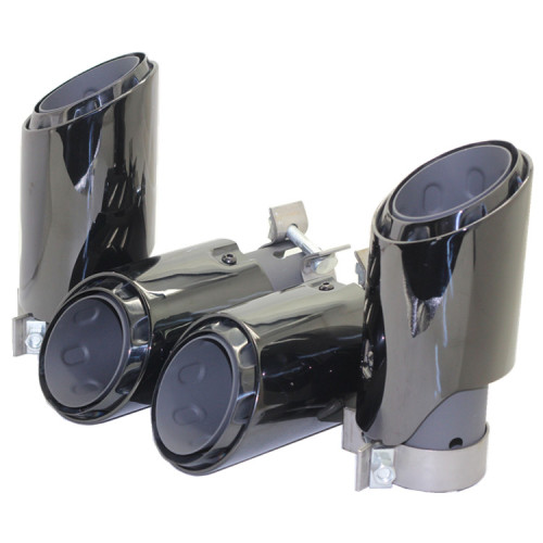 2020 new style exhaust tip for Universal exhaust pipe muffler chrome Black