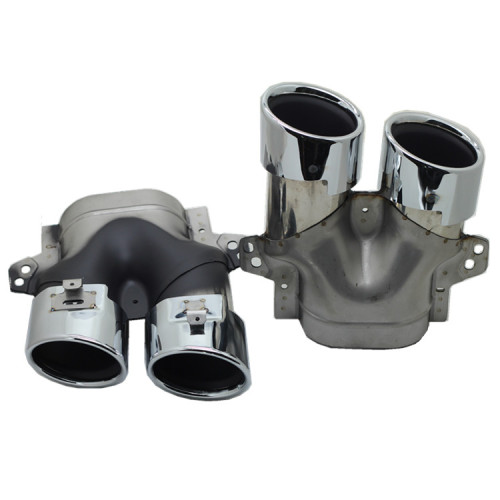 new Manufactory 304 stainless steel auto exhaust pipe muffler tip for Mercedes-Benz 2019 C43